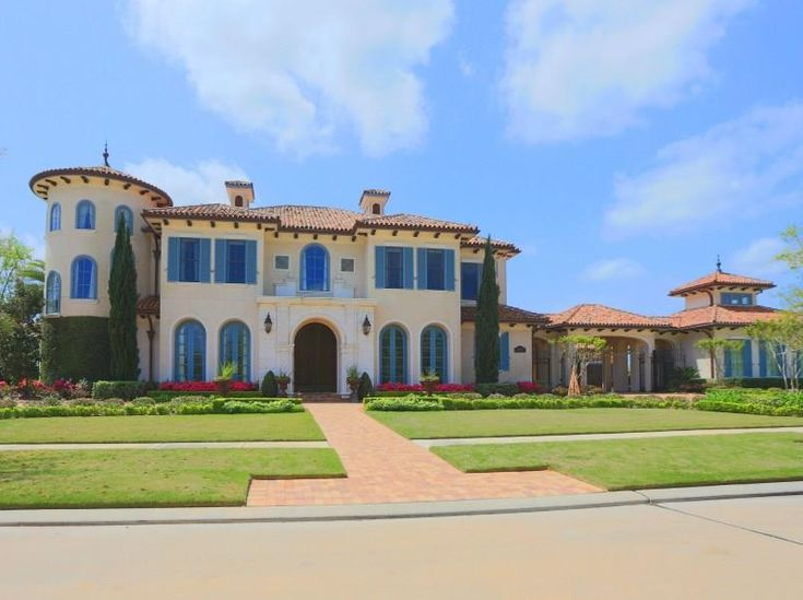15 genius italian style houses house plans 7188 for Texas mediterranean style homes