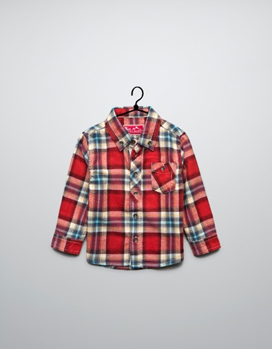 checked shirt - Shirts - Baby boy (3-36 months) - Kids - ZARA United States