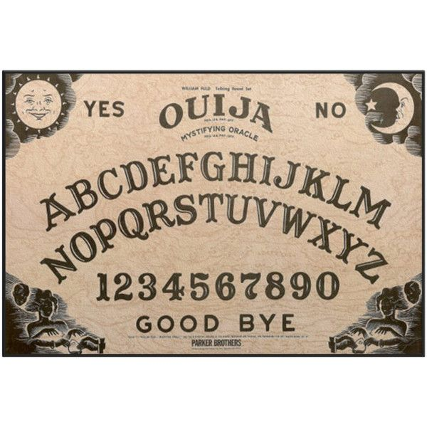 Ouija Board Door mat - Welcome Mat - Novelty Door mat (£25) ❤ liked on Polyvore featuring home, outdoors, outdoor decor, images, fillers and witchy