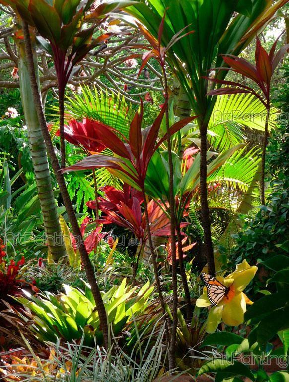 Tropical Garden - Wall Murals & Posters