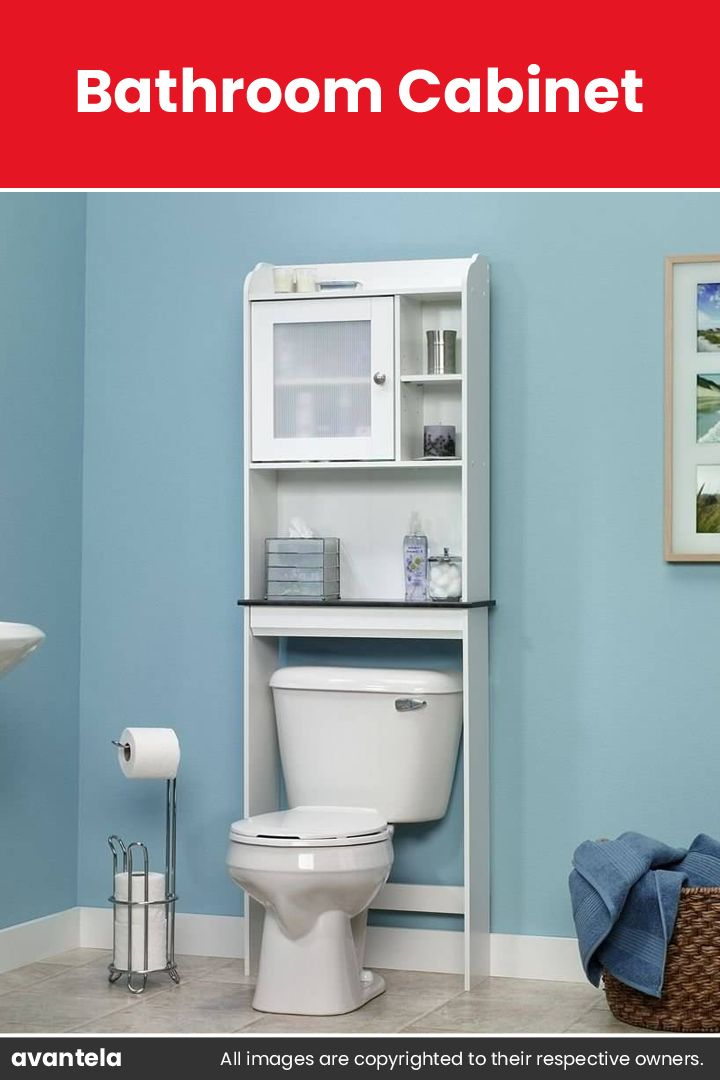 65 Bathroom Cabinet Ideas 2020 That Overflow With Style Over The Toilet Cabinet Bathroom Floor Cabinets Small Bathroom Storage