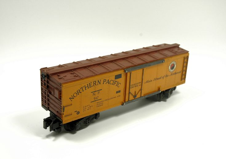Vintage American Flyer 947 Northern Pacific Reefer Box Car Rolling Stock S-Scale #americanflyer #modeltrains #indypicker