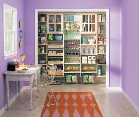 EasyClosets website, idea for back kitchen wall.