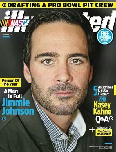 *Jimmie Johnson NASCAR Illustrated Person of the Year 2013 Award*
