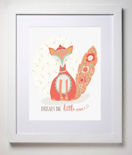 Our lovingly illustrated 'Jewell' is so soft and gentle and will watch over your special little dreamer all night long. Printed on carbon neutral, linen card. Available framed or un-framed. (White frame as pictured)