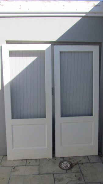 Three set or rebated doors as per pictures SwartlandR1100.00 per set or R3000.00 for all three setsDavid 0832724133...202075817