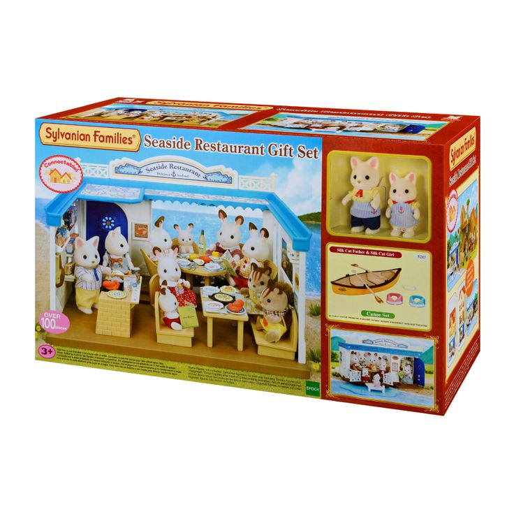 Toys For Restaurants : Sylvanian families seaside restaurant and gift set toys