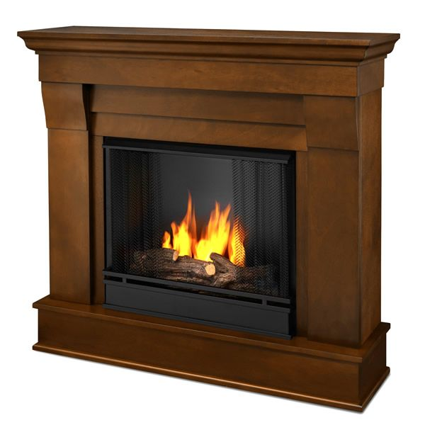Home Fireplaces Gel Fuel Fireplaces Real Flame Chateau