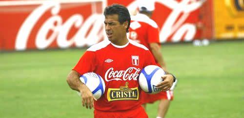 Pablo Bengoechea el nuevo DT de la seleccion peruana - Deportes #peru #futbol