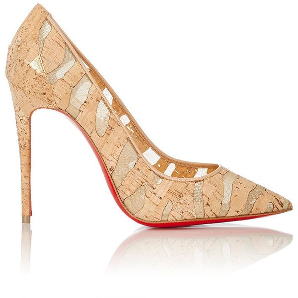 Christian Louboutin Women's Pigalle Follies Pumps (1,030 NZD) ❤ liked on Polyvore featuring shoes, pumps, heels, christian louboutin, nude, pointy toe high heel pumps, nude heel shoes, christian louboutin shoes and pointed toe shoes