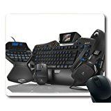 Natural Mouse Pad Non-Slip Neoprene Rubber Gaming Mouse Pad 220mm X 180mm X 3mm