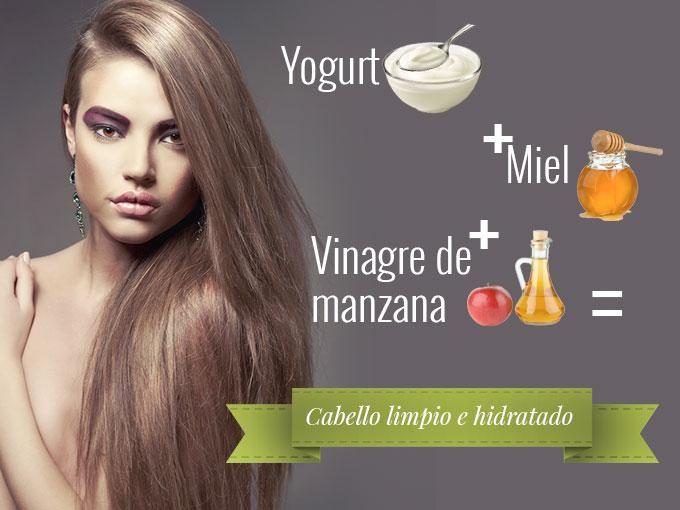 Si tu cabello es graso y últimamente lo sientes muy pesado y sucio (aunque te lo laves diario), entonces te recomendamos que pruebes la siguiente mascarilla casera a base de miel, yogurt y vinagre de manzana.Este tratamiento es súper efectivo, porque además de limpiar el cabello y el cuero...