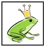 "Frog Hunt - print out the frogs, hide them around your house and have your little ones ""leap"" to find them!"