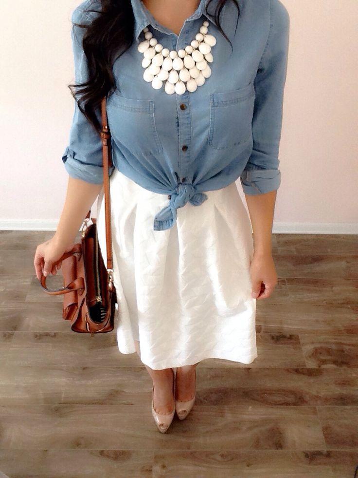 Such a cute way to wear a Nicole dress, Amelia dress, Azure skirt, or Madison skirt.