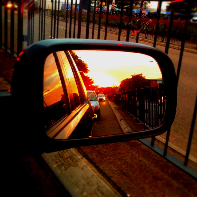 Sunset in Randwick