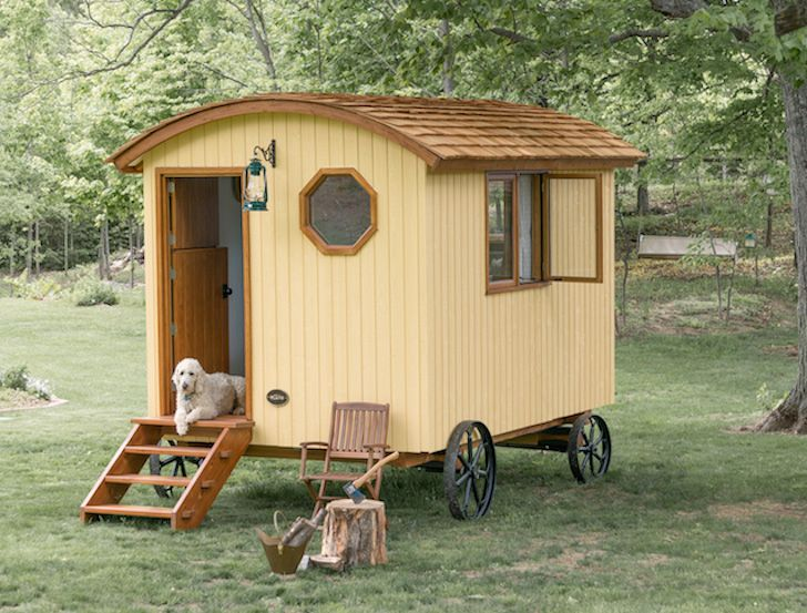 Tiny Prefab Shepherd Hut Is A Picturesque Time Portal To The 19th Century