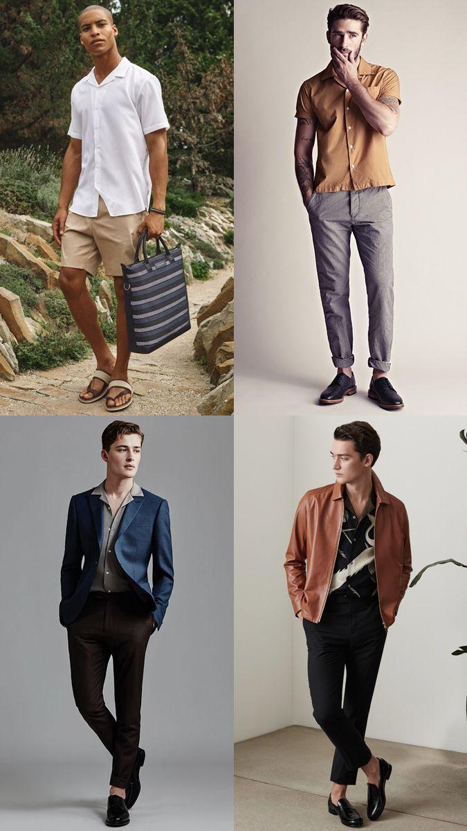 98de4297 How To Wear Cuban Collar Shirts | Men's Fashion en 2019 | Fashion ...