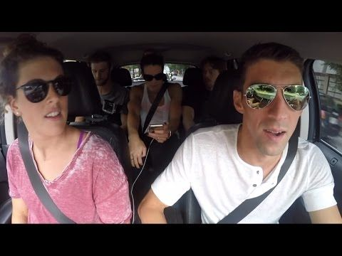 2016 USA Olympic Swim Team Carpool Karaoke - YouTube
