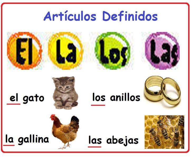 Spanish words: definite articles. Artículos definidos. #Spanish grammar http://4.bp.blogspot.com/-LQbDdHHytoI/T4tD14afktI/AAAAAAAAADk/osJHacIyhSA/s1600/articulos+definidos.jpg