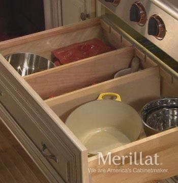 how to make kitchen drawer dividers