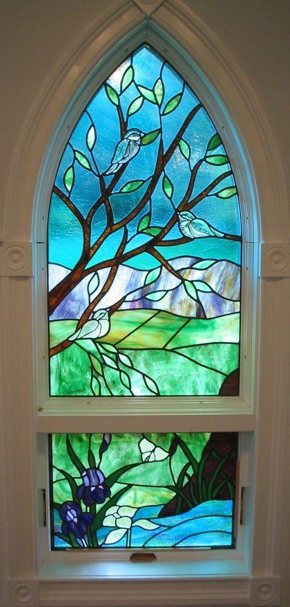Beautiful Stained Glass Window