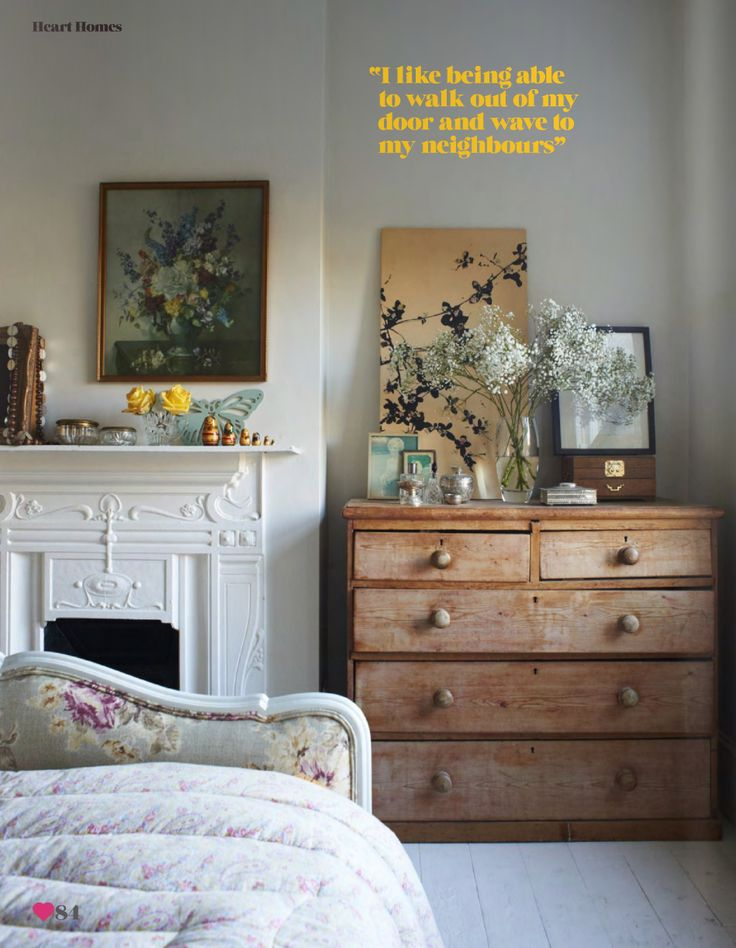 claire morgan andrew boyd heart home magazine gray white floral and wood eclectic vintage rustic modern bedroom by recent decor