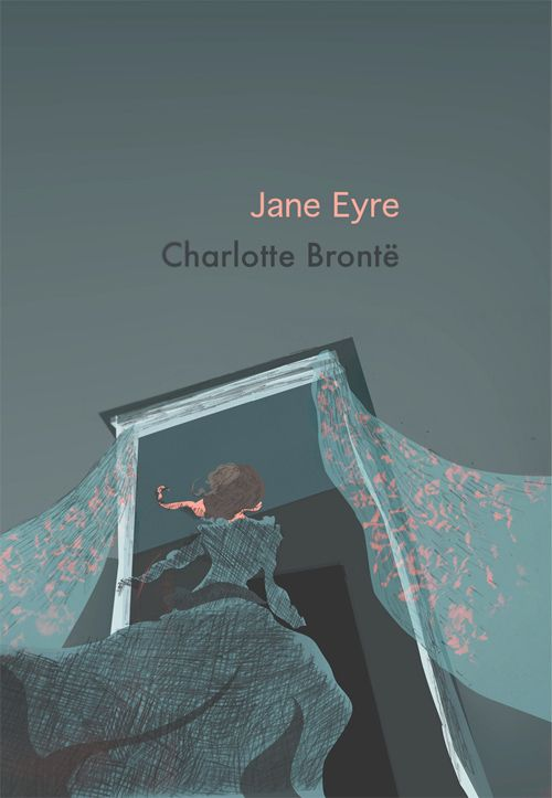 Book cover design by Frank van Klink for the Re-Covered Books challenge | Jane Eyre by Charlotte Brontë