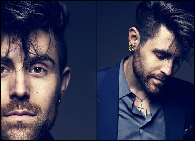 Totally digging Davey Havok's newest look