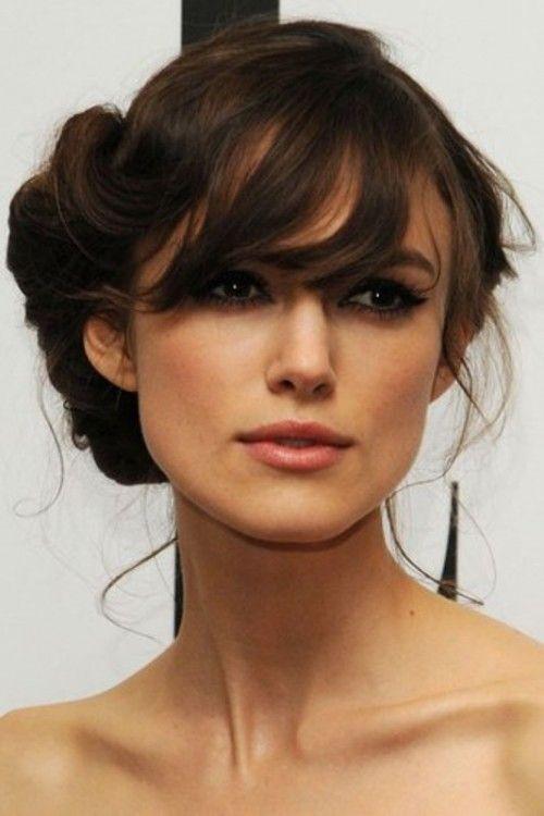 Terrific 1000 Ideas About Wedding Hair Bangs On Pinterest Kelly Reilly Short Hairstyles Gunalazisus
