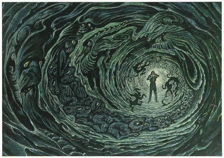 "Henrik Ibsen 'Peer Gynt' ""In the Kingdom of Trolls"" by Савва Бродский"