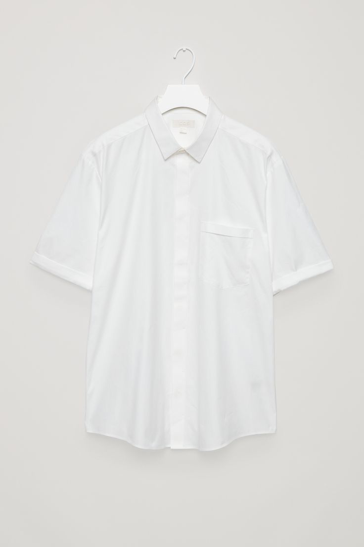 COS   Fold-sleeve shirt