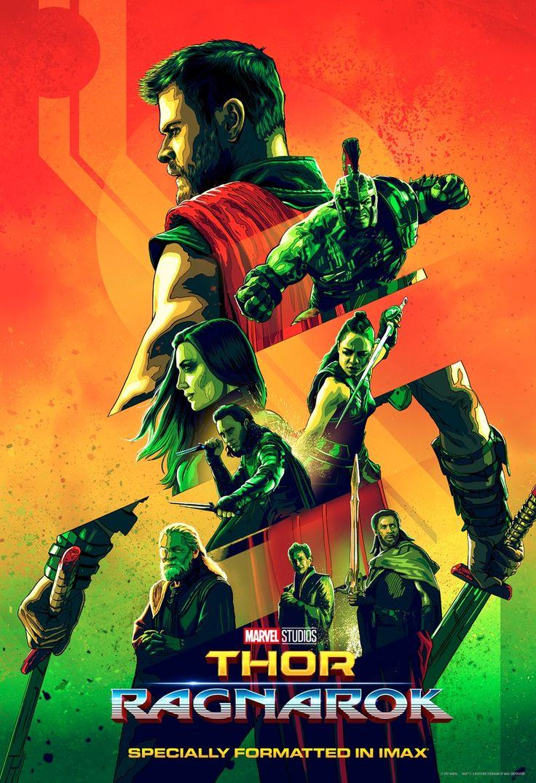 Thor: Ragnarök IMAX poster