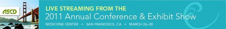 2011 ASCD Annual Conference Live Stream - Doug Fisher & Nancy Frey - ASCD EDge