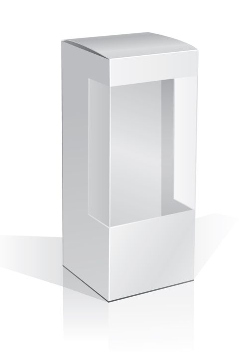 Free - Set of Paper Packaging Box design vectors