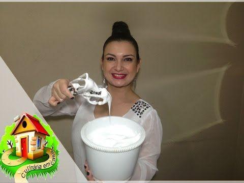 chantilly feito com água muito facil   Culinária em Casa - YouTube
