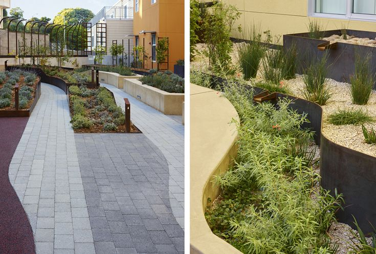 INTERSTICE Architects » Bayview Hill Gardens Landscape