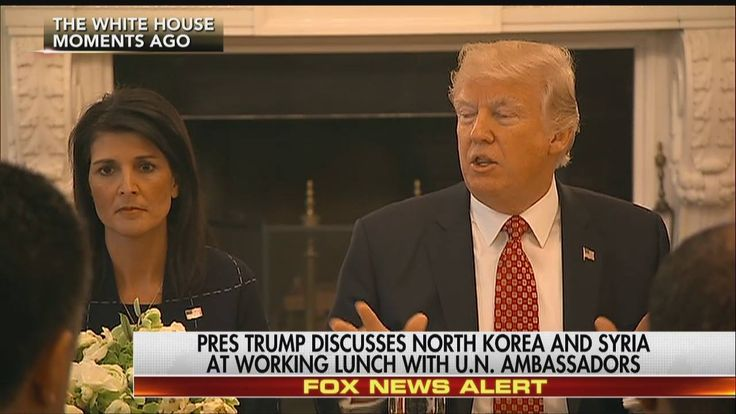 """President Donald J. Trump is hosting the United Nations Security Council ambassadors at The White House today.   """"I think that the United Nations has tremendous potential … I know it hasn't lived up to the potential,"""" the president said."""