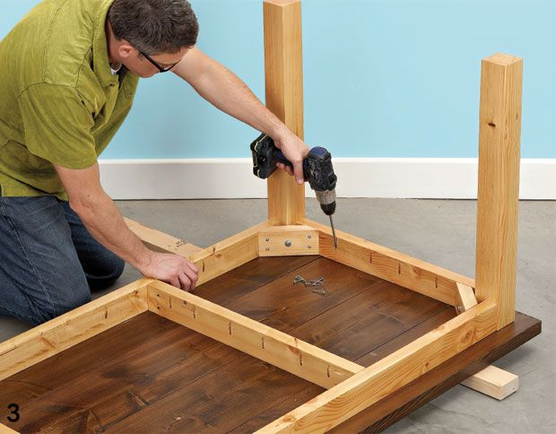 Turn rough construction lumber into top-notch material to make this affordable table and bench set.