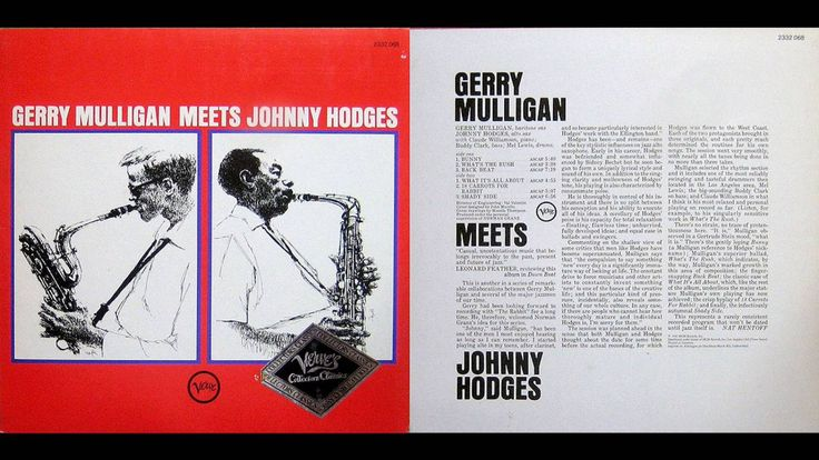 ♫ Gerry Mulligan Meets Johnny Hodges / Verve / 2332 068 / 1976 / JAZZ / ...