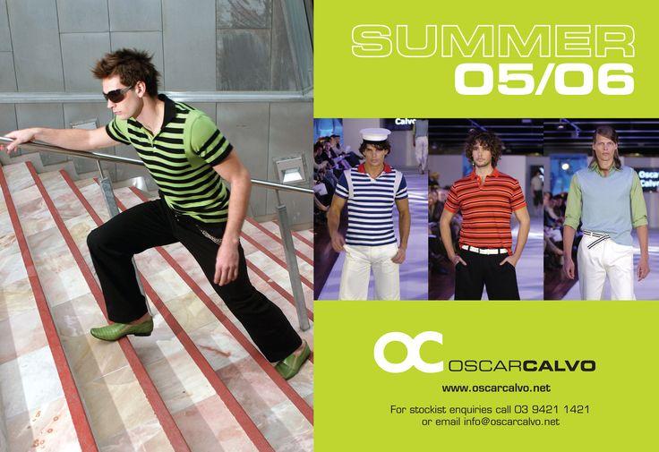 OC OSCARCALVO   SUMMER 2005/06 AD #oscarcalvo #menswear #mensfashion #mensclothing