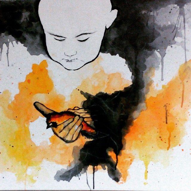 Hope Dies Last/Watercolor