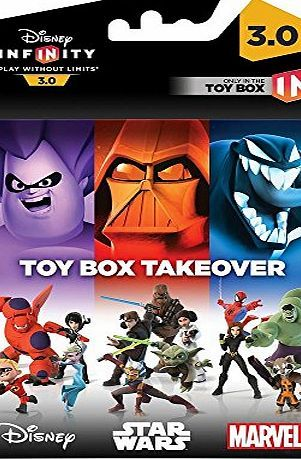 Disney Infinity 3.0 : Toy Box Takeover (A Toy Box Expansion Game) (PS4/PS3/Xbox One/Xbox 360) Besonderheiten: USK ohne Altersbeschränkung (Barcode EAN = 8717418457839). http://www.comparestoreprices.co.uk/latest2/disney-infinity-3-0-toy-box-takeover-a-toy-box-expansion-game--ps4-ps3-xbox-one-xbox-360-.asp