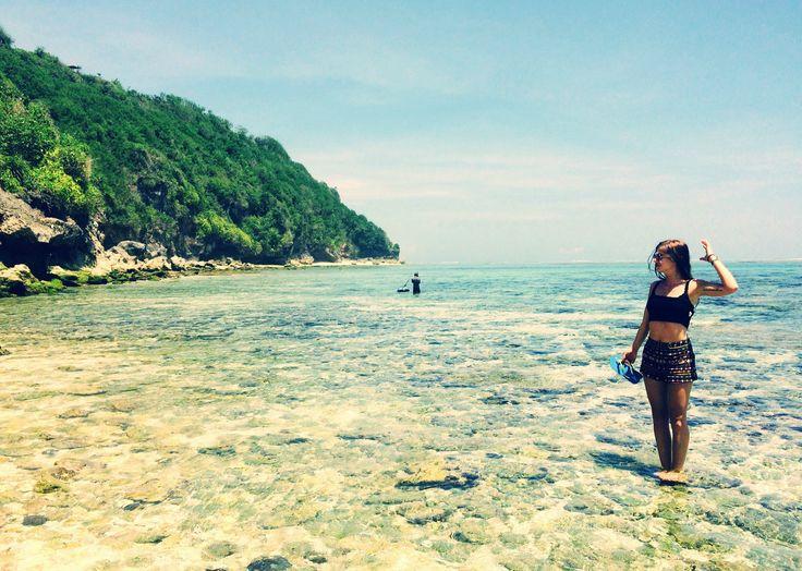 Padang Padang Beach, Indonesia beach, sun, travel, sky, traveller, backpacker
