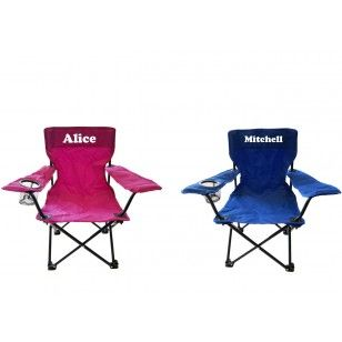 Personalised Kids Camping Chairs