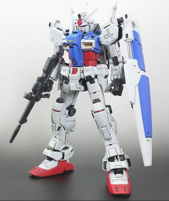 RX-78GP01  Front view