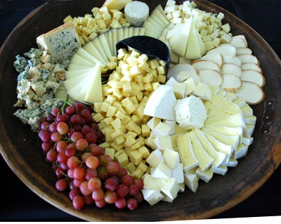 Cheese platter. Literally this is the only thing that really needs to be pinned to my wedding board. If I've got that and a husband, I'm good.