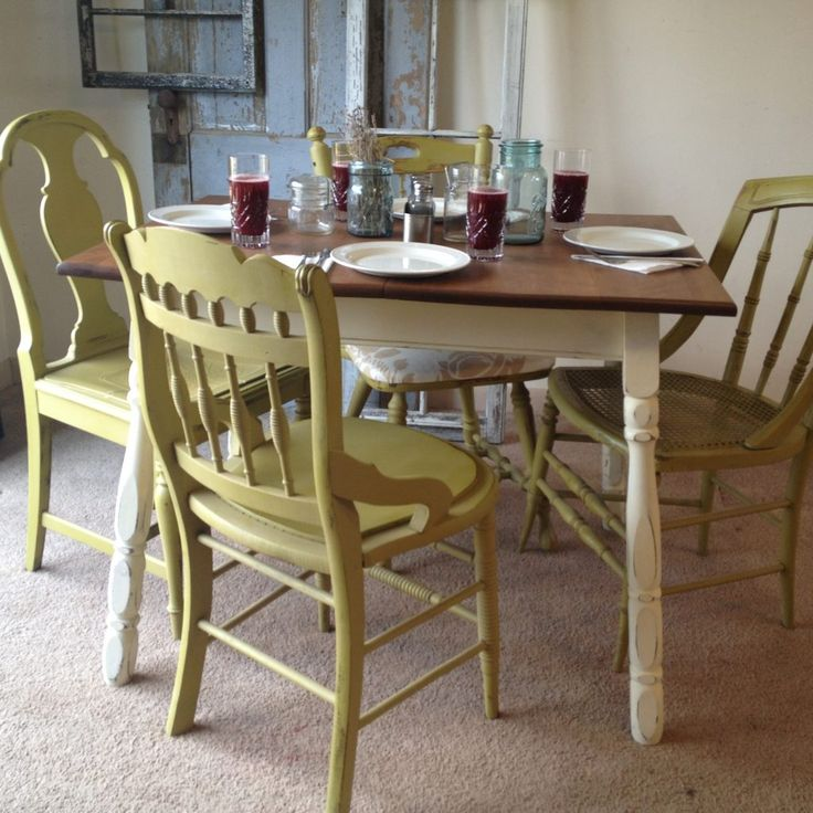 Apartment Kitchen Table And Chairs: Best 25+ Country Kitchen Tables Ideas On Pinterest