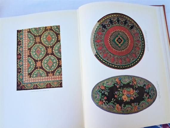 Vintage 1929 European and American Carpets and Rugs by Cornelia Bateman Faraday