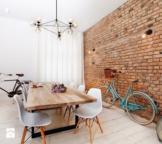 Apartament w Sopocie. Wyjątkowy. - Średnia otwarta jadalnia w salonie, styl vintage - zdjęcie od DEKA DESIGN