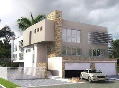Best 25 fachada casas modernas ideas on pinterest for Casas modernas y lujosas fotos